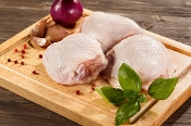 Chicken Thighs Organic Bone In (1-1.5lb)