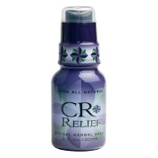 CR Relief Spray Organic/Hemp Infused (25mg)