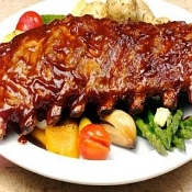 Pork- St Louis Ribs, Certified Organic, Approx 4.5lb.