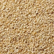Seed- Sesame, Brown Organic, Hulled (8oz)