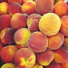 Georgia Peaches  -Organic (by the pound)