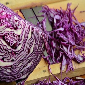 Cabbage Red Organic Each Approx 3 lb