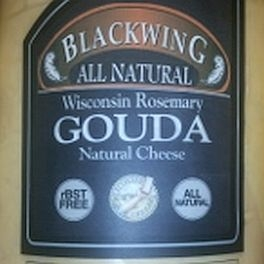 Wisconsin Rosemary Gouda Cheese (8oz Resealable Bag)